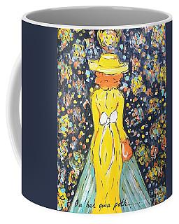 Blazing Her Own Path  Coffee Mug