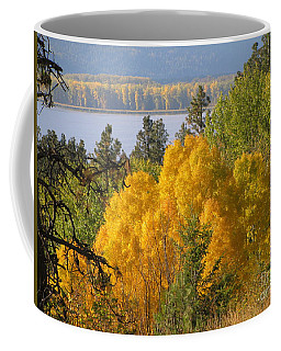 Blazing Yellow Coffee Mug by Leone Lund