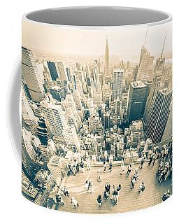 Bleached Manhattan Coffee Mug