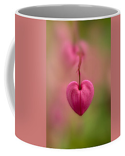 Bleeding Heart Flower Coffee Mug