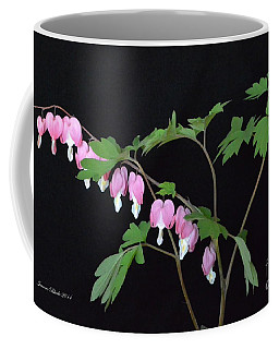 Coffee Mug featuring the photograph Bleeding Hearts 2 by Jeannie Rhode