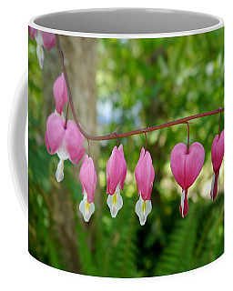 Bleeding Hearts Coffee Mug by Peter Mooyman