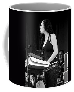 Coffee Mug featuring the photograph Bleeding Through's Marta Peterson by Mike Martin