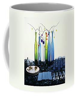 Blenko Glass Bottles Coffee Mug