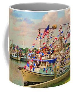 Blessing Of The Fleet Coffee Mug by Deborah Lacoste