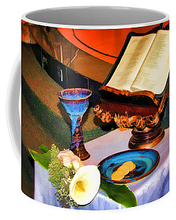 Coffee Mug featuring the photograph Blessings-benediciones by Eleanor Abramson