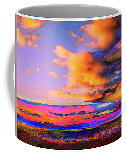 Blinn Hill View Coffee Mug by Expressionistart studio Priscilla Batzell