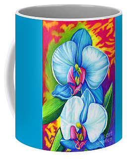 Coffee Mug featuring the painting Bliss by Nancy Cupp
