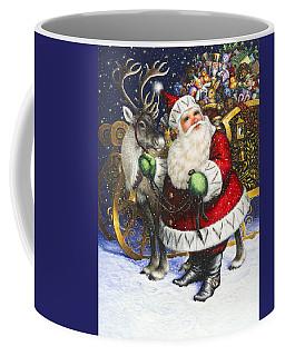 Blitzen Coffee Mug