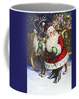 Blitzen Coffee Mug