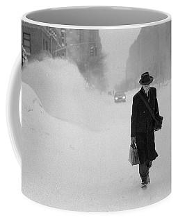 Blizzard On Park Avenue Coffee Mug