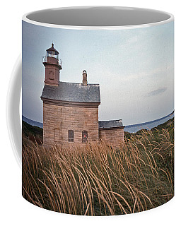 Block Island North West Lighthouse Coffee Mug by Skip Willits