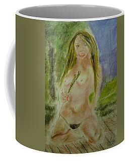Blond On Deck Coffee Mug by David Trotter