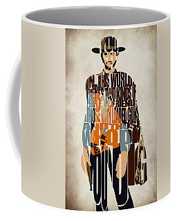 Blondie Poster From The Good The Bad And The Ugly Coffee Mug by Ayse Deniz