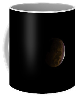 Coffee Mug featuring the photograph Blood Moon by Steven Santamour
