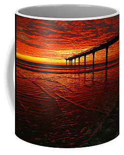 Blood Red Dawn Coffee Mug