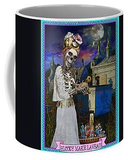 Bloody Marie Laveau Coffee Mug by Tammy Wetzel