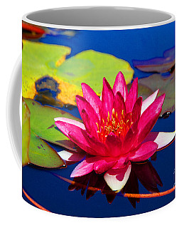 Blooming Lily Coffee Mug