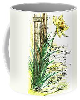 Blooming Daffodil Coffee Mug