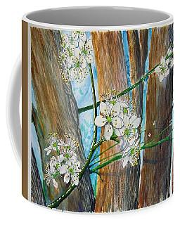 Blooms Of The Cleaveland Pear Coffee Mug