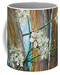 Blooms Of The Cleaveland Pear Coffee Mug