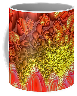Blossom Digital Workout 1 Coffee Mug by Rudi Prott