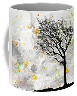 Blowing It The Wind Coffee Mug