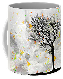 Blowing It The Wind Coffee Mug