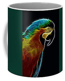 Blue And Gold Macaw Frac Coffee Mug