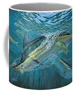Blue And Mahi Mahi Underwater Coffee Mug