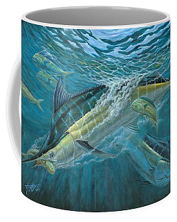 Blue And Mahi Mahi Underwater Coffee Mug