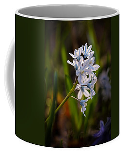 Blue And White Coffee Mug