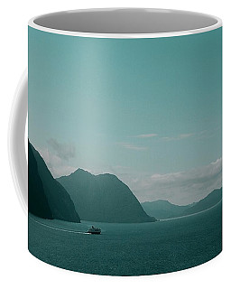 Blue As Fjord Coffee Mug