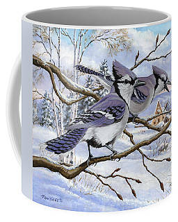 Blue Bandits Winter Afternoon Coffee Mug