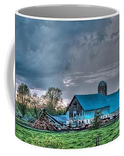 Blue Barn Coffee Mug