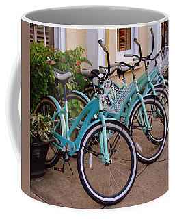Blue Bikes Coffee Mug