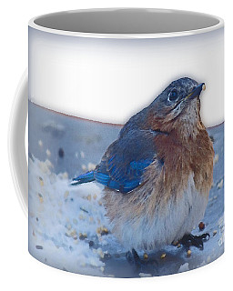 Blue Bird 4 Coffee Mug