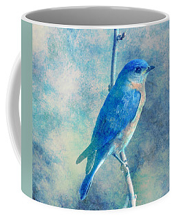 Blue Bird Blue Sky Coffee Mug