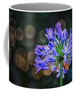 Blue Blooms Coffee Mug