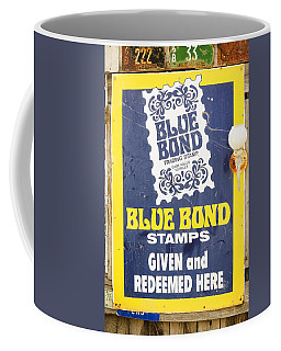 Blue Bond Savings Stamps Coffee Mug