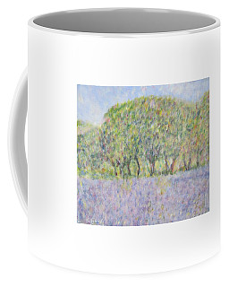 Blue Bonnets  Field In  Texas Coffee Mug