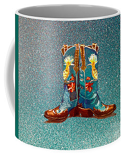 Blue Boots Coffee Mug