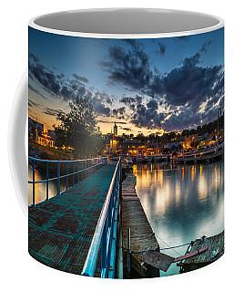Blue Bridge Coffee Mug by James  Meyer