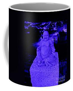 Blue Buddha And The Blue City Coffee Mug