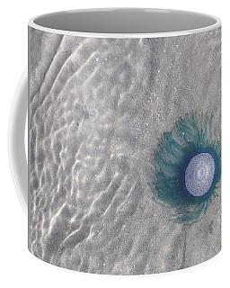 Blue Button Jellyfish Coffee Mug