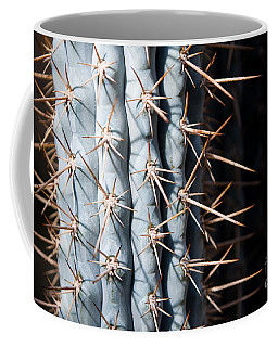 Blue Cactus Coffee Mug
