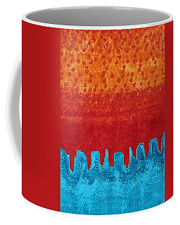 Blue Canyon Original Painting Coffee Mug by Sol Luckman