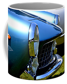 Coffee Mug featuring the photograph Blue Car by Dean Ferreira