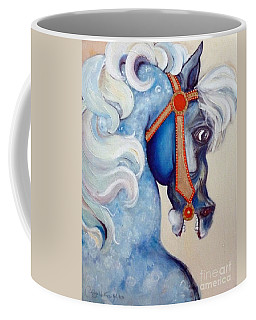 Blue Carousel Coffee Mug