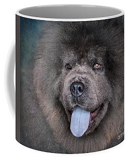 Blue Chow Chow Coffee Mug